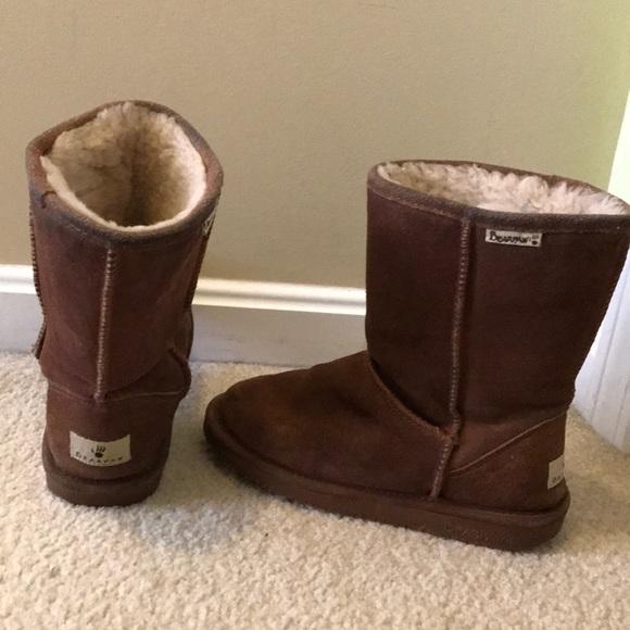 7fb664cc30b BearPaw Shoes | Boots Emma Short Suede | Poshmark